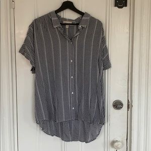 [cloth & stone] NWOT Gingham Button Down